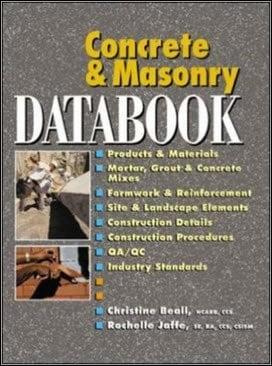 Beall C., Concrete and Masonry Databook, 2003