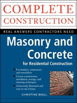 Beall C., Masonry and Concrete for Residental Construction, 2000