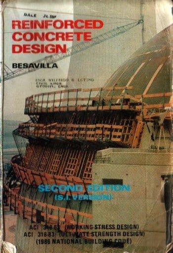 Besavilla, Solution Reinforced Concrete Design, 2nd ed, 1986