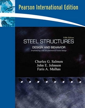 C. G. Salmon, Steel Structures Design & Behavior, 5th ed., 2009