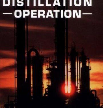 Distillation Operation, Henry Kister,1990