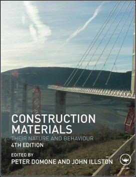 Domone P., Construction Materials – Their Nature and Behaviour, 4th ed, 2010