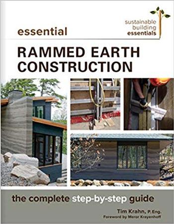 دانلود کتاب Essential Rammed Earth Construction The Complete Step-by-Step Guide