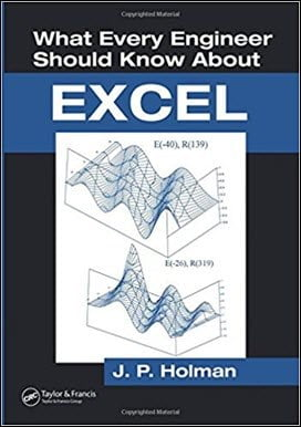 Holman J. P., What Every Engineer Should Know About Excel, 2006