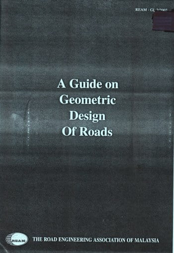 REAM, Guidelines On Geometric Design of Roads, 2000