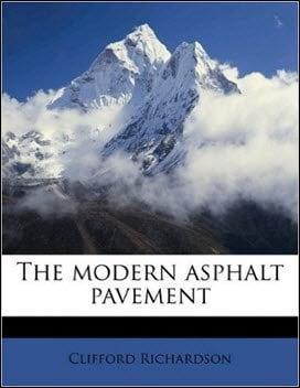 Richardson C., The Modern Asphalt Pavement, 2010
