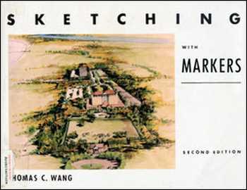 دانلود کتاب Sketching With Markers