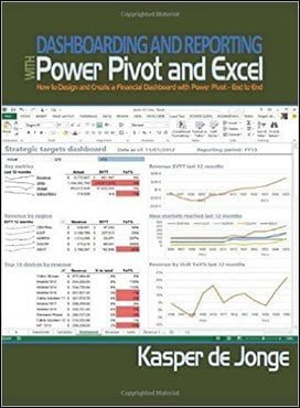 de Jonge K., Dashboarding and Reporting with Power Pivot and Excel, 2014