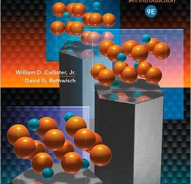 Materials Science and Engineering: An Introduction, William D Callister, 2013
