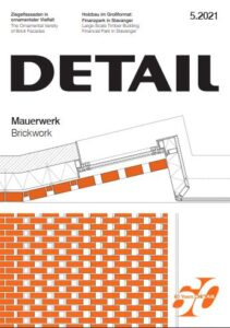 دانلود مجله Detail Magazine 2021 - 05